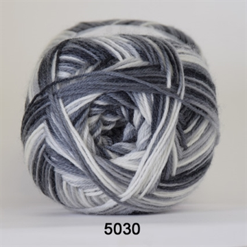 Sockwool Aloe fv. 5030 sort/grå