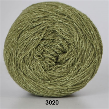 Hjertegarn Wool Silk fv. 3020 lime