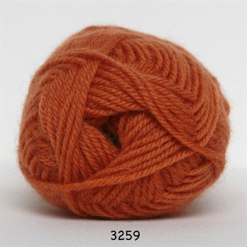 Hjertegarn Vital fv. 3259 orange