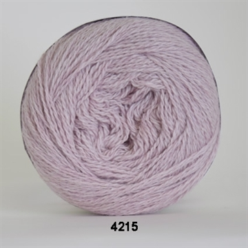Organic 350 wool/cotton fv. 4215 lys rosa