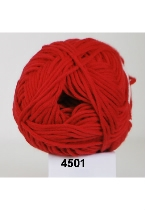 Alicante cotton fv. 4501 RØD