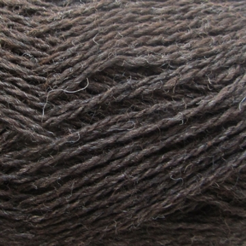 Isager Highland Wool fv. Chocolate