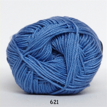 Hjertegarn Diamond cotton fv. 621 blå