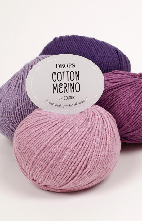 Cotton Merino Drops