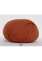 Hjerte Fine Highland wool fv.9110 orange