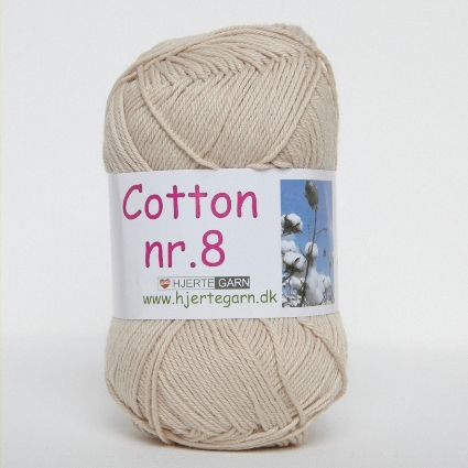 Hjertegarn Cotton nr. 8