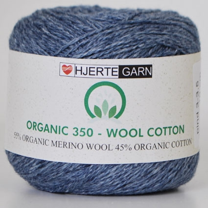 Organic 350 wool/cotton