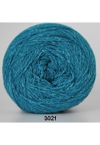 Wool Silk fv. 3021 turkis