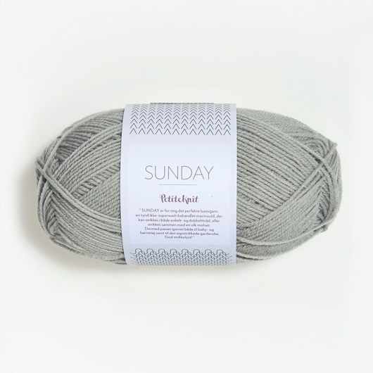 Sandnes Sunday PetiteKnit fv. 1031 foggy grey